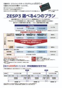 ZESP3パンフ2ページ目